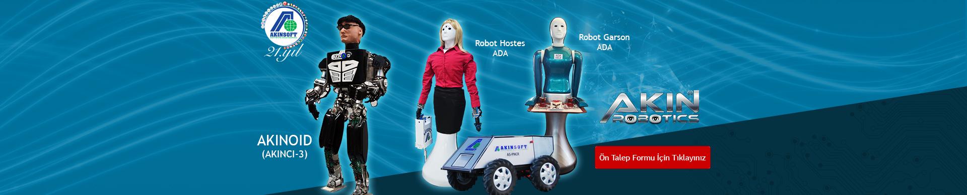 AKINROBOTICS Robotik Sistemler Ön Talep Formu